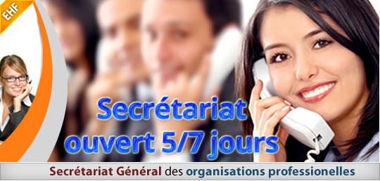 Le secrétariat de l'École d'Hypnose Francophone