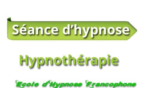 Séance d'hypnose  l'hypnothérapie